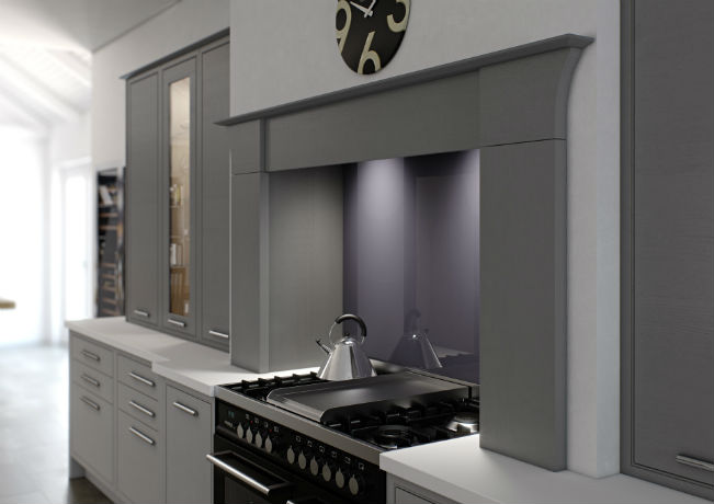 Modern Classic tapered mantle unit